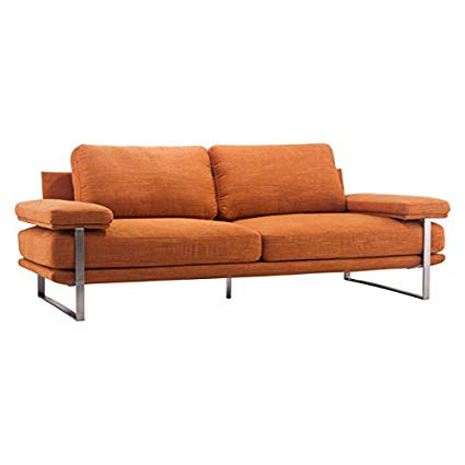 Zuo Jonkoping Sofa Sunkist, Orange